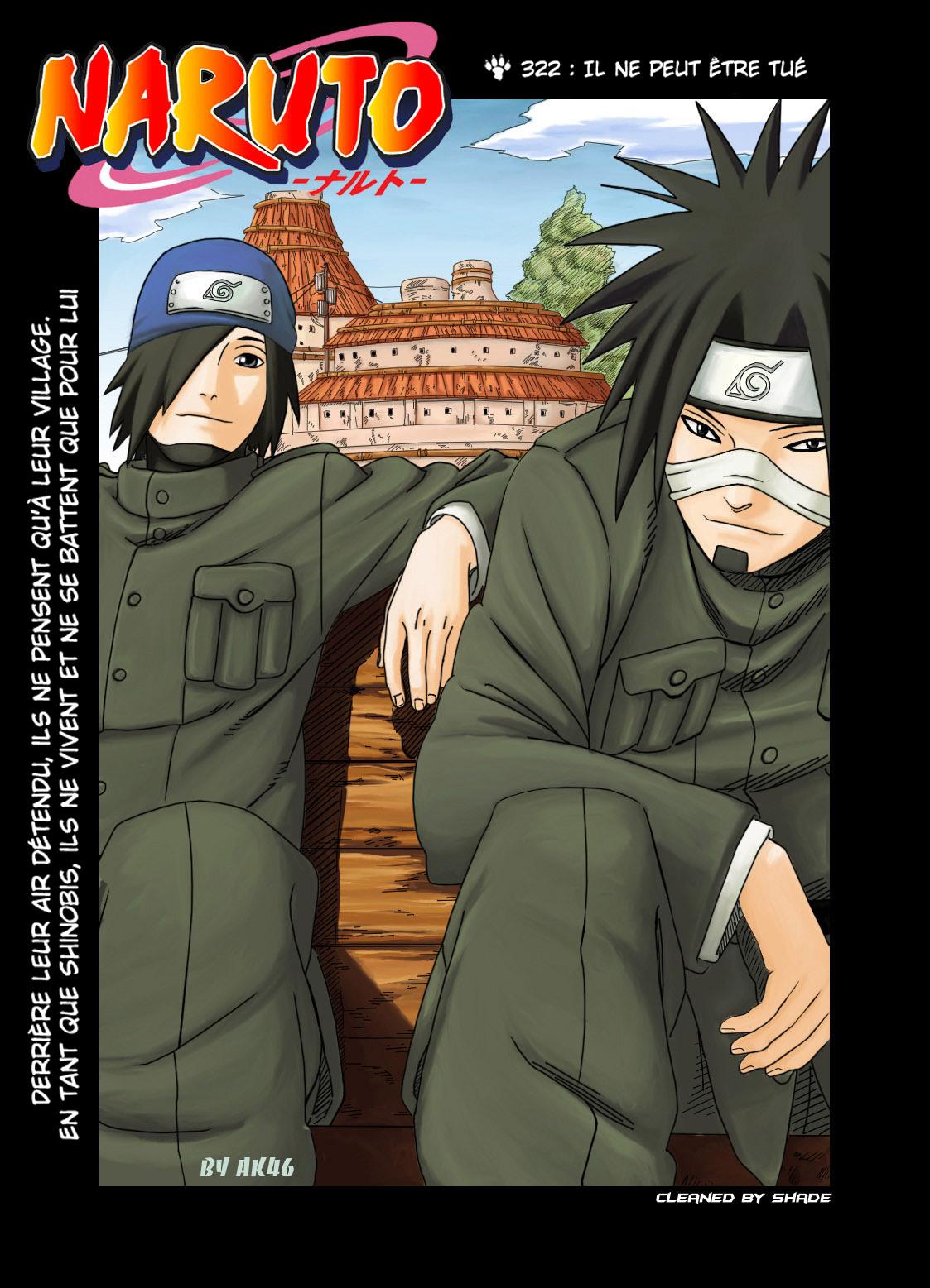 Naruto chapitre 322 colorisé - Page 1