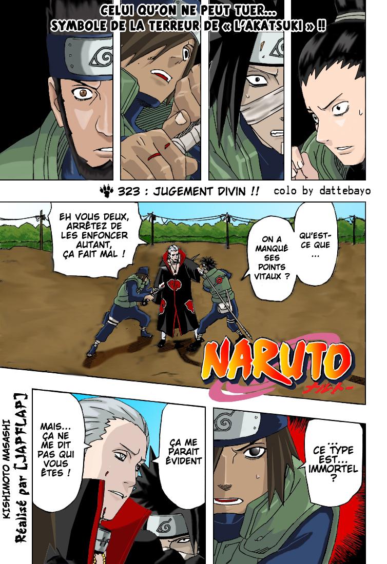Naruto chapitre 323 colorisé - Page 1