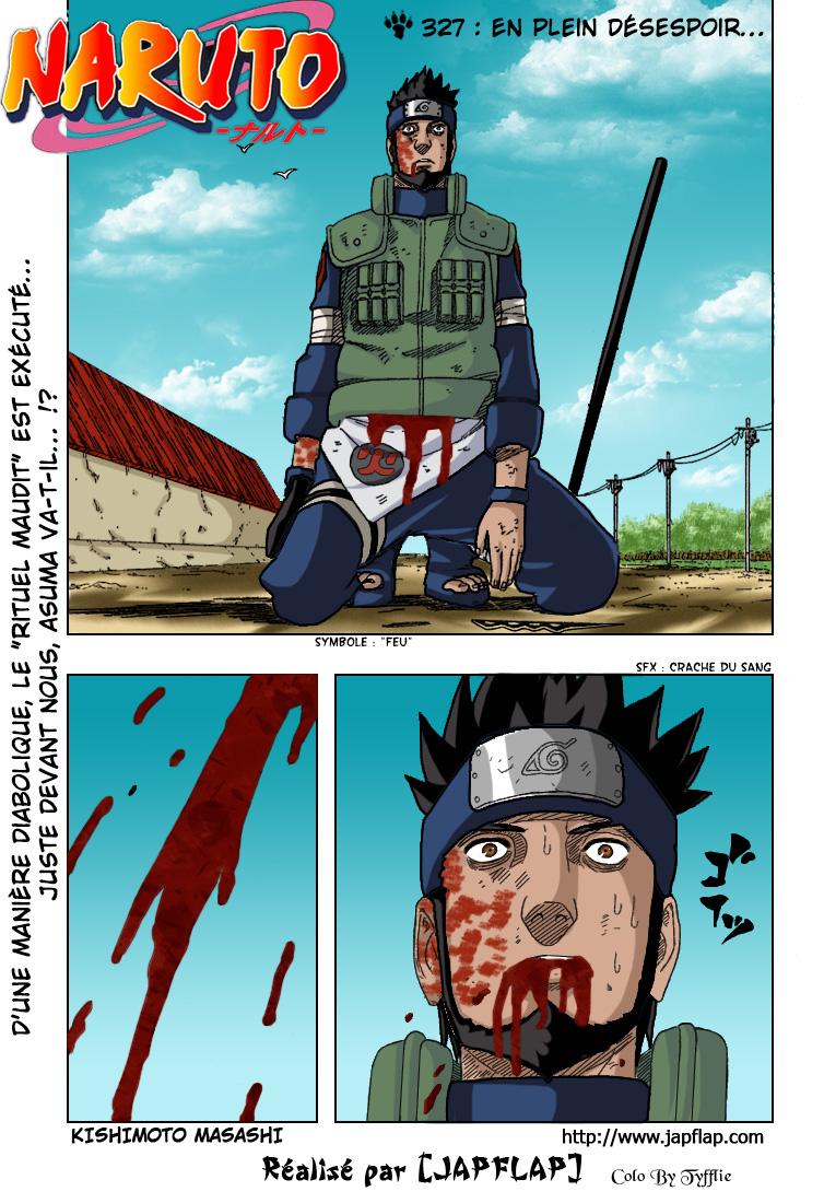 Naruto chapitre 327 colorisé - Page 1