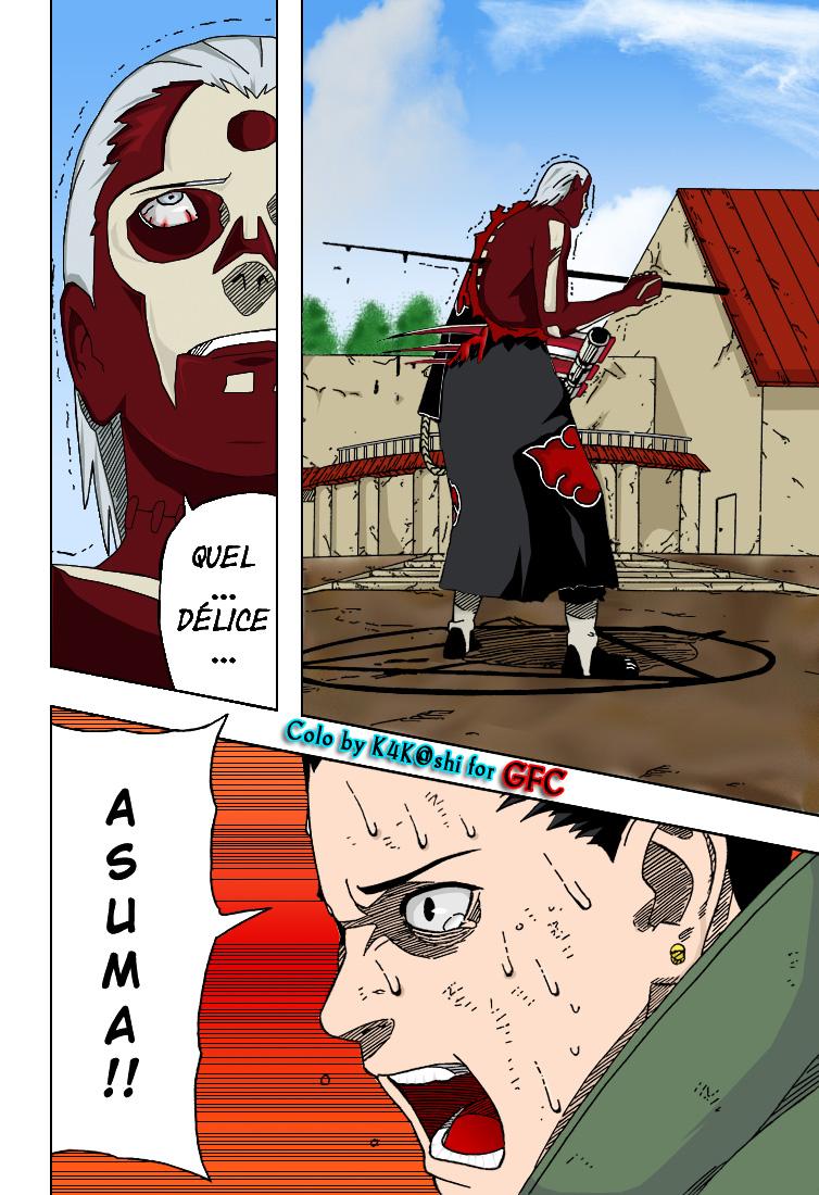Naruto chapitre 327 colorisé - Page 4