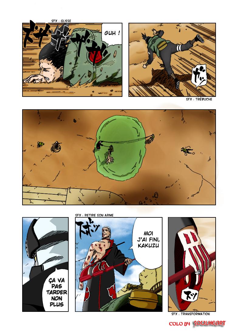 Naruto chapitre 327 colorisé - Page 5