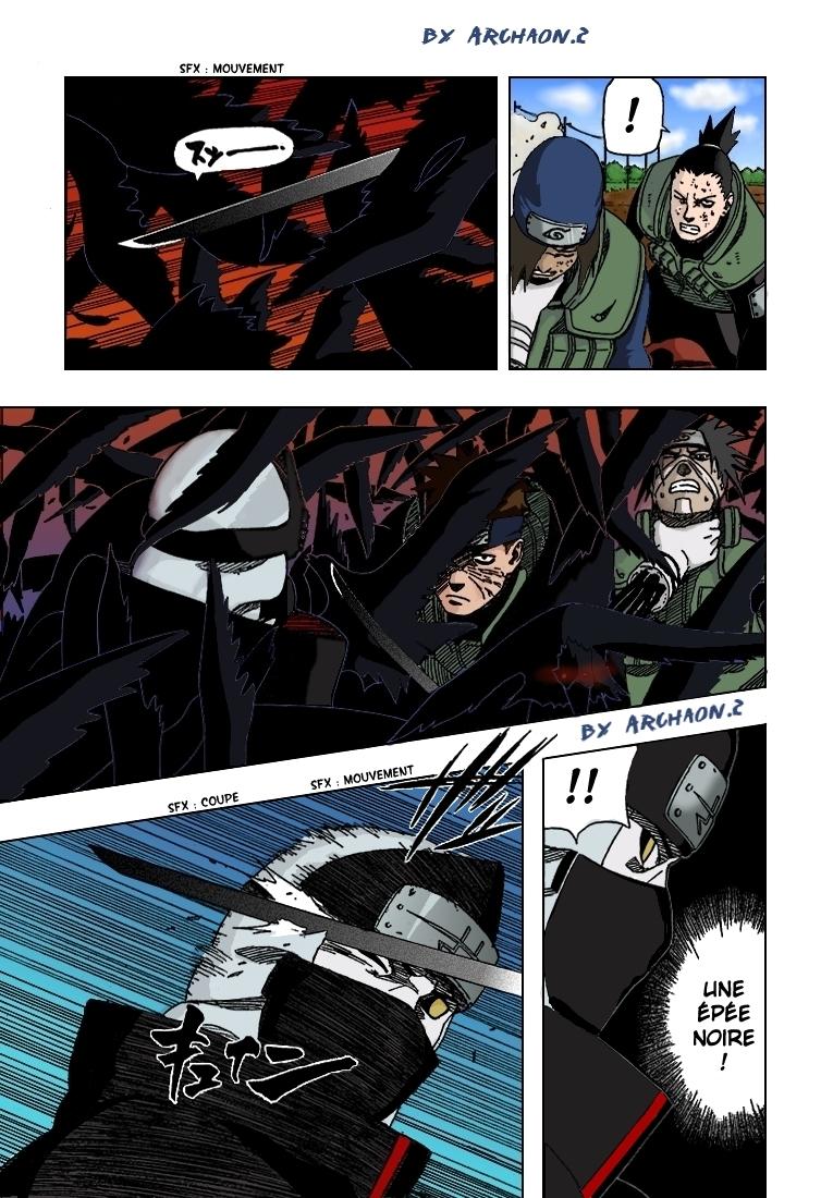 Naruto chapitre 327 colorisé - Page 9