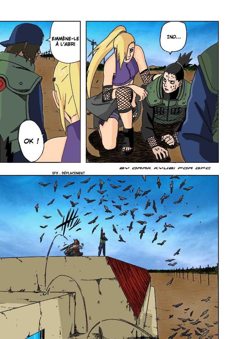 Naruto chapitre 327 colorisé - Page 11