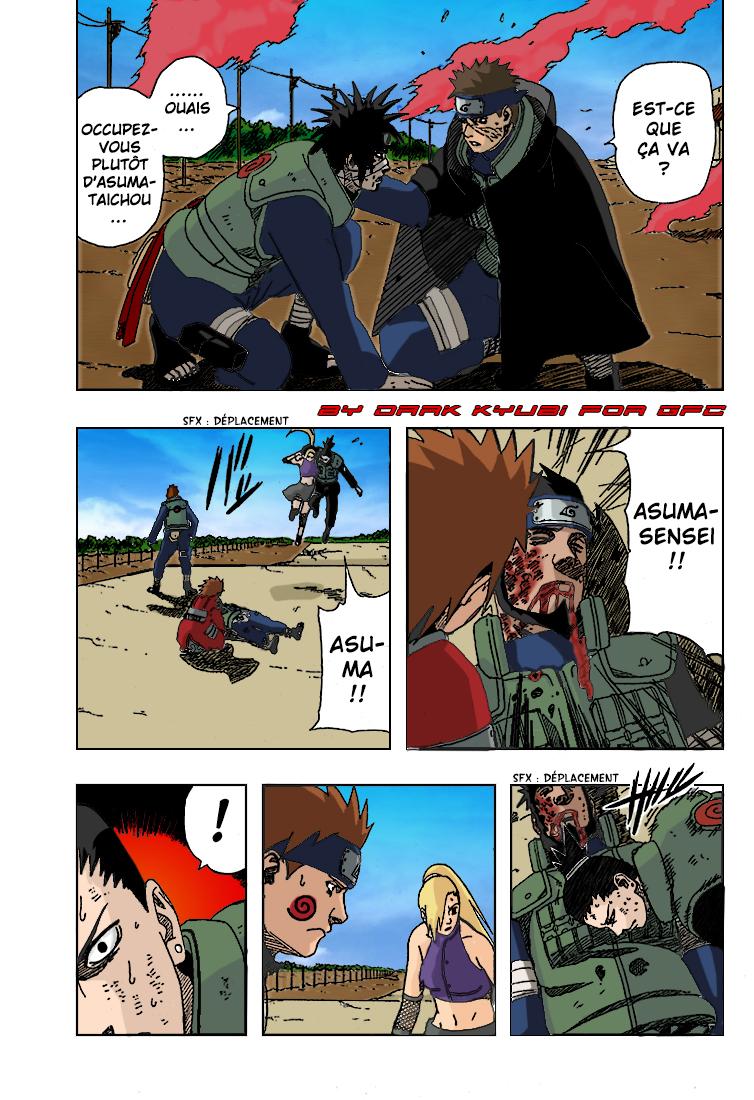 Naruto chapitre 327 colorisé - Page 13