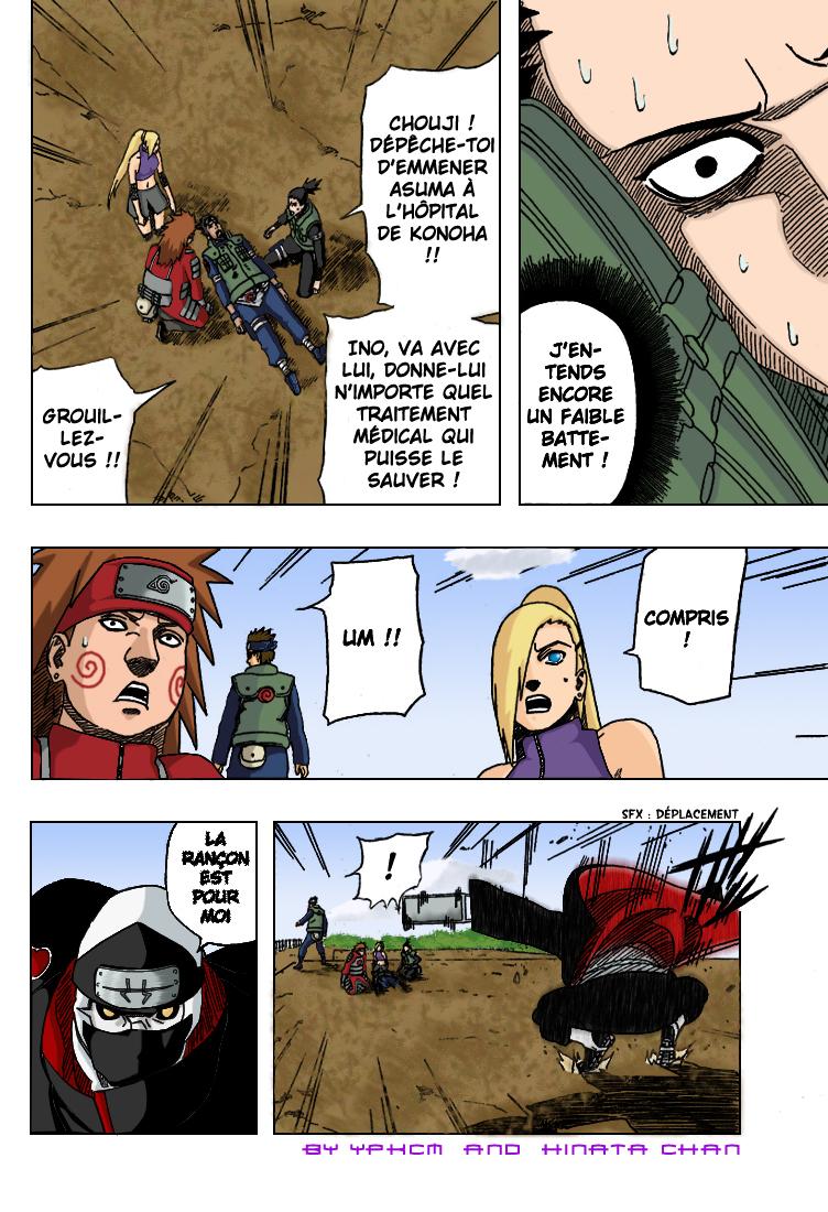 Naruto chapitre 327 colorisé - Page 14