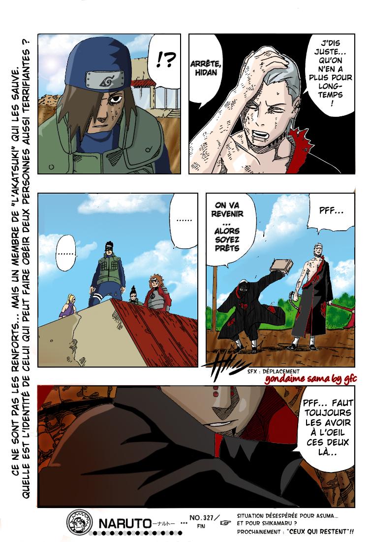 Naruto chapitre 327 colorisé - Page 17