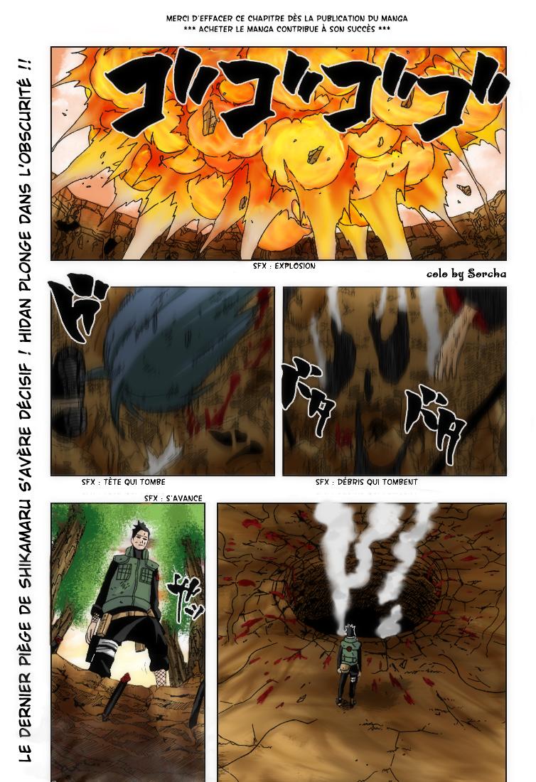 Naruto chapitre 339 colorisé - Page 1