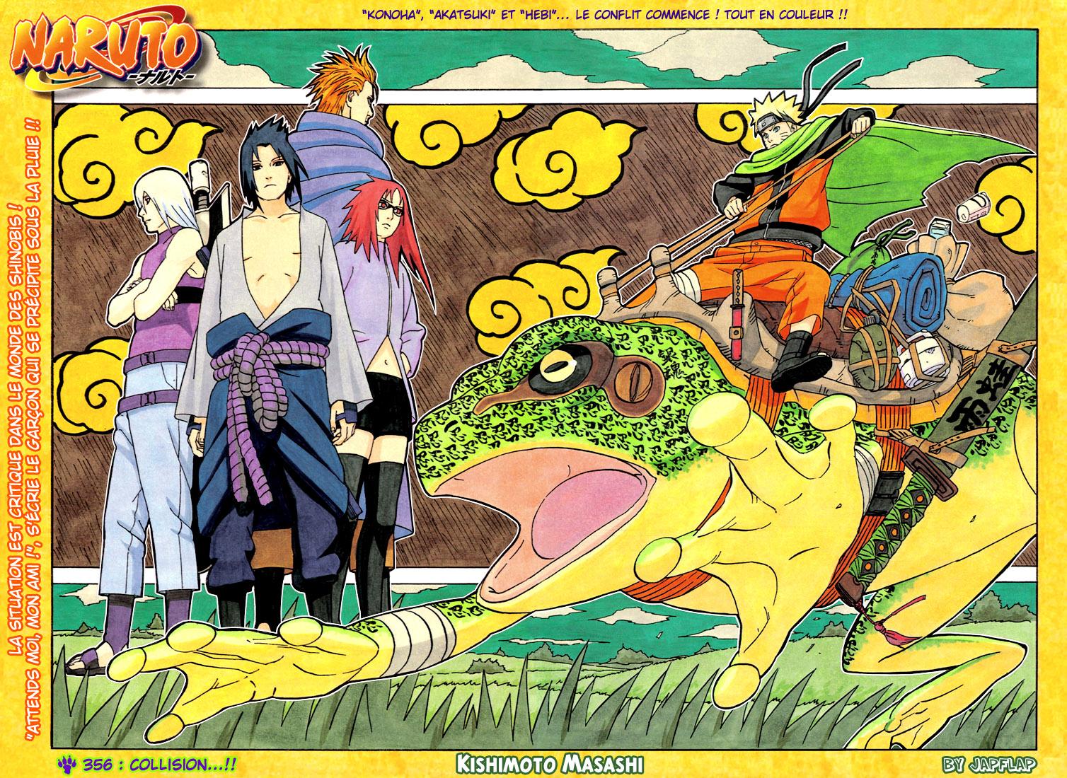 Naruto chapitre 356 colorisé - Page 1