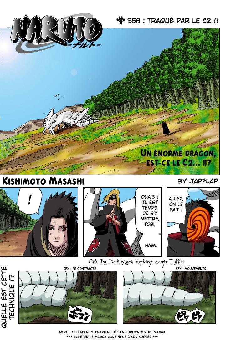 Naruto chapitre 358 colorisé - Page 1