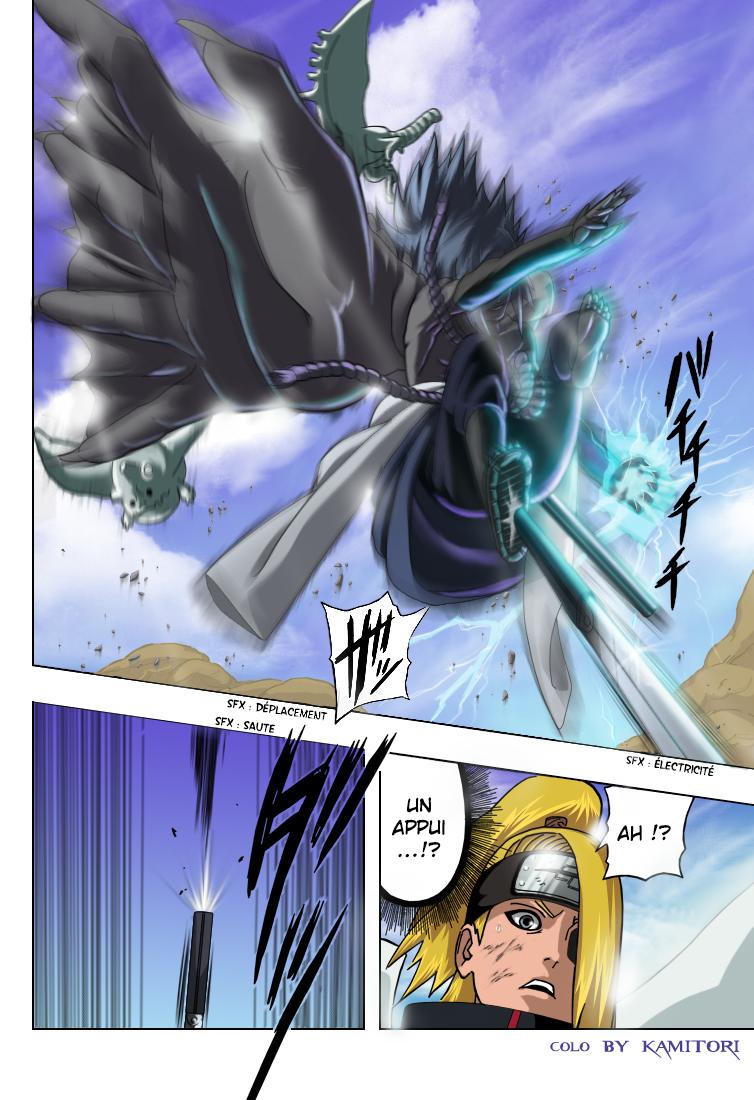 Naruto chapitre 358 colorisé - Page 14