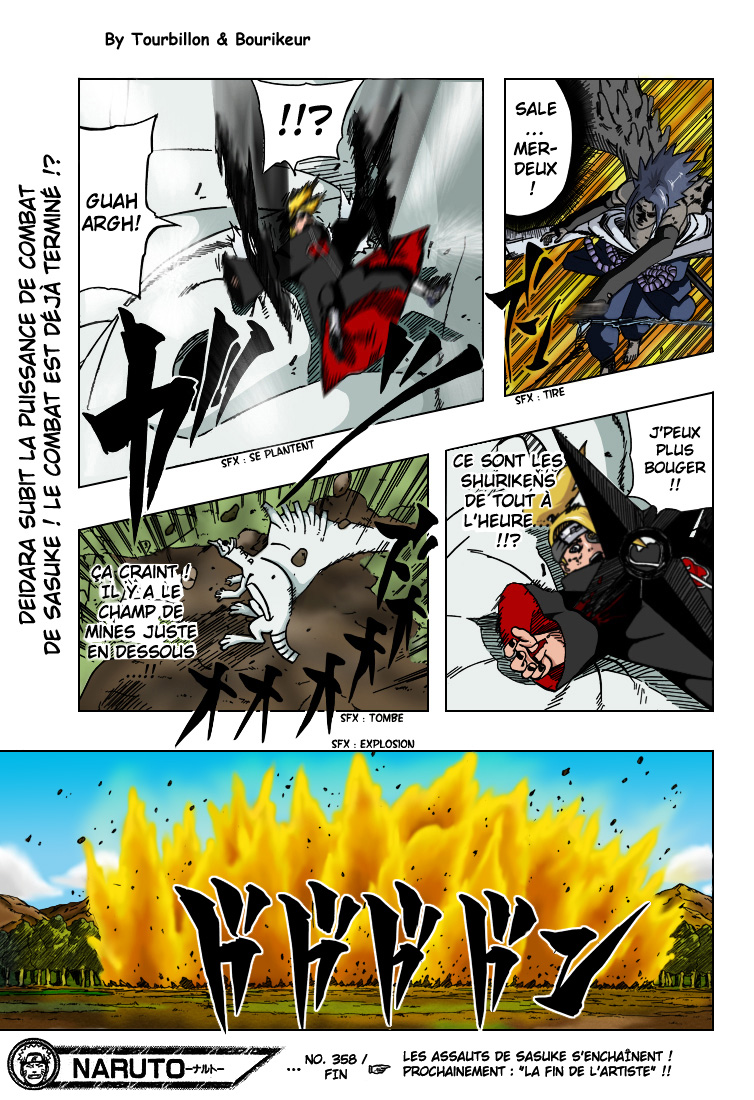 Naruto chapitre 358 colorisé - Page 17