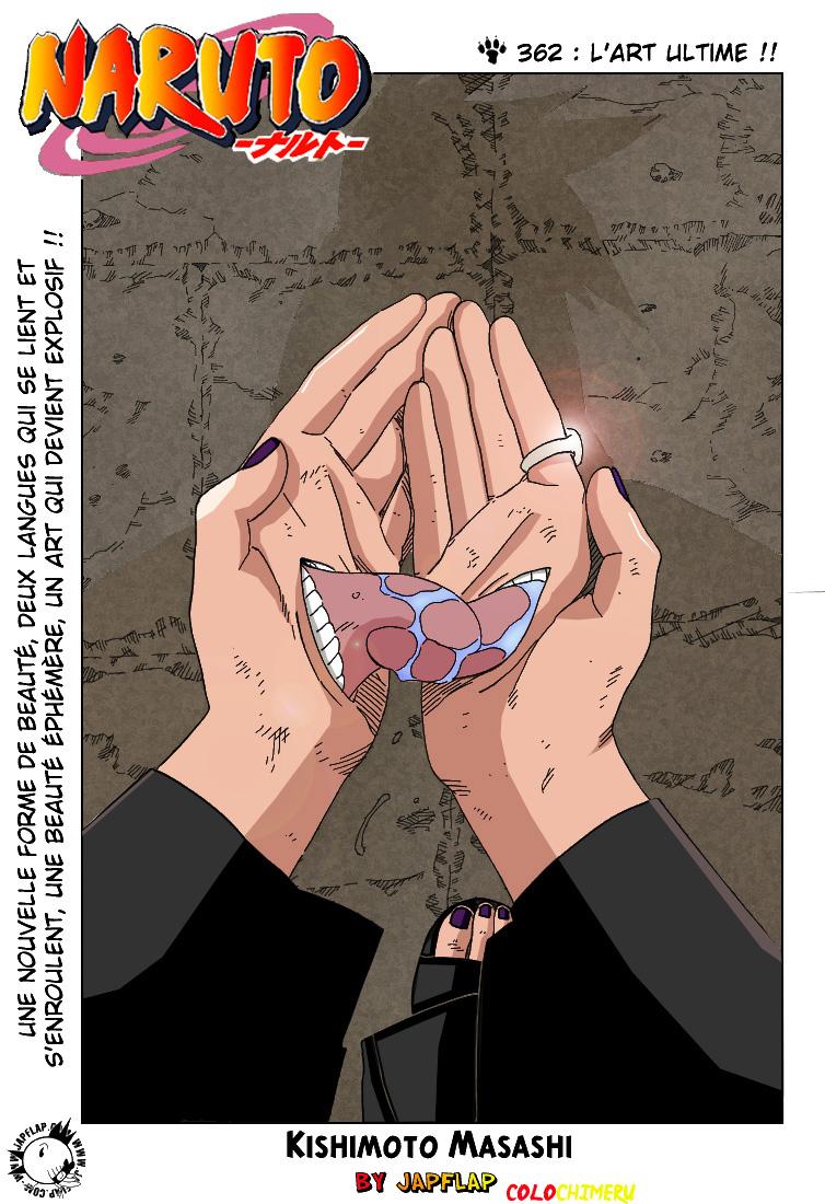Naruto chapitre 362 colorisé - Page 1