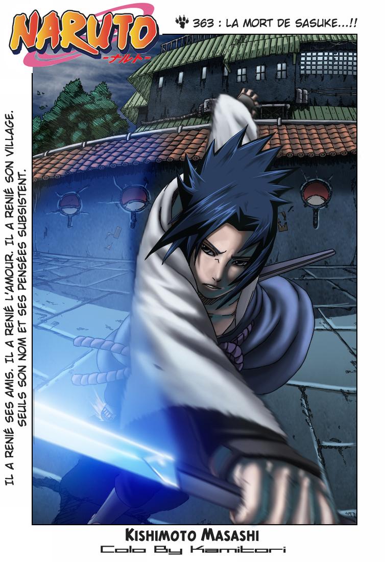 Naruto chapitre 363 colorisé - Page 1