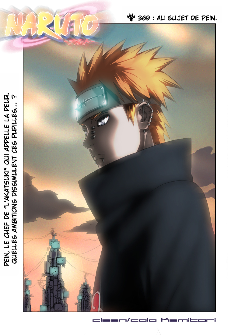 Naruto chapitre 369 colorisé - Page 1