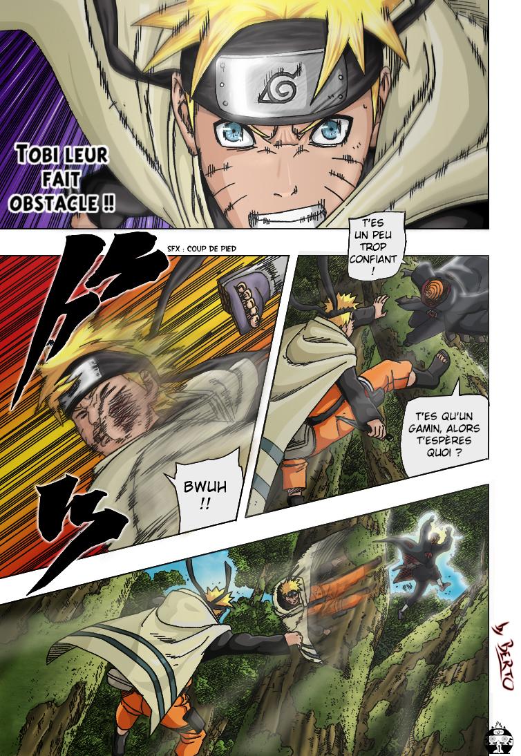 Naruto chapitre 383 colorisé - Page 1