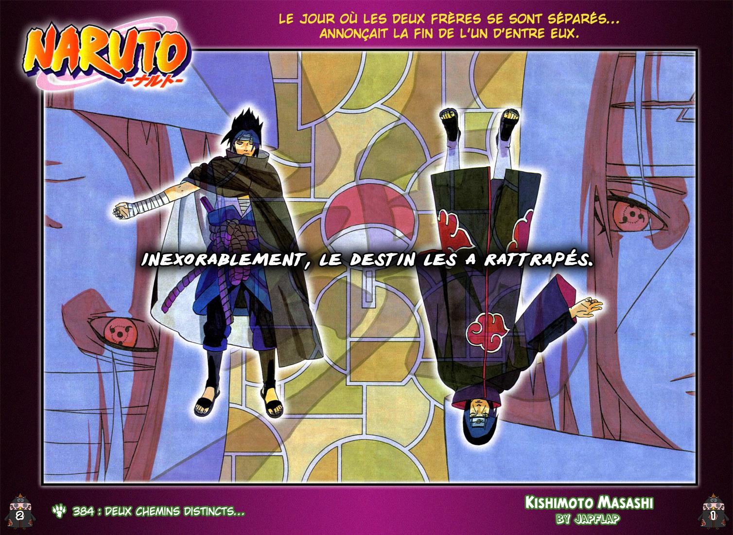 Naruto chapitre 384 colorisé - Page 1
