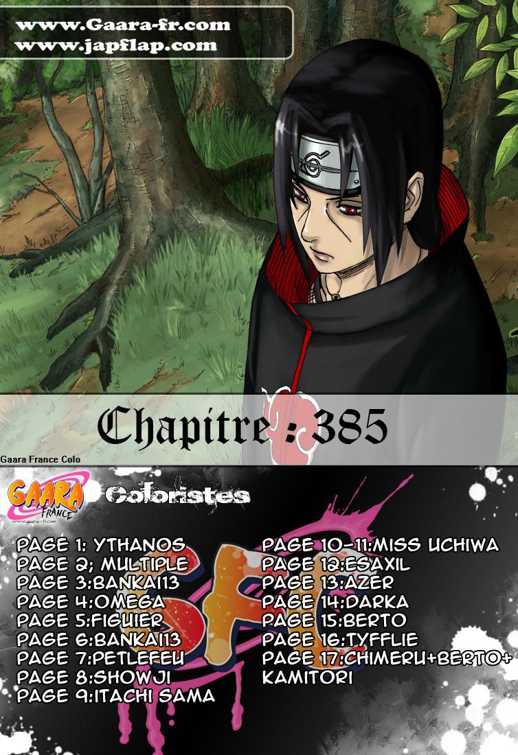 Naruto chapitre 385 colorisé - Page 17