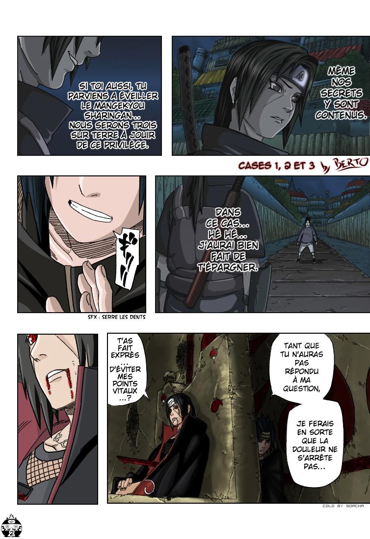 Naruto chapitre 385 colorisé - Page 2
