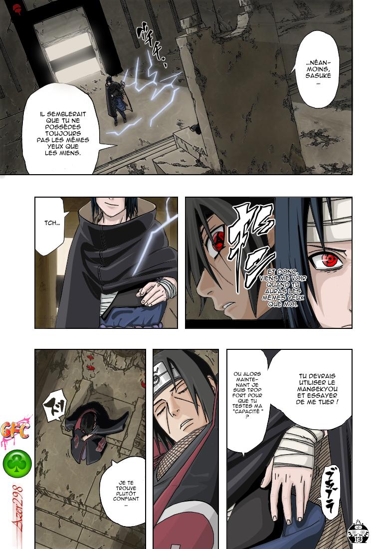 Naruto chapitre 385 colorisé - Page 12