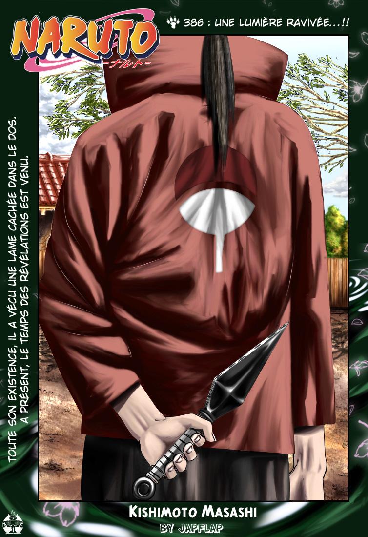 Naruto chapitre 386 colorisé - Page 1