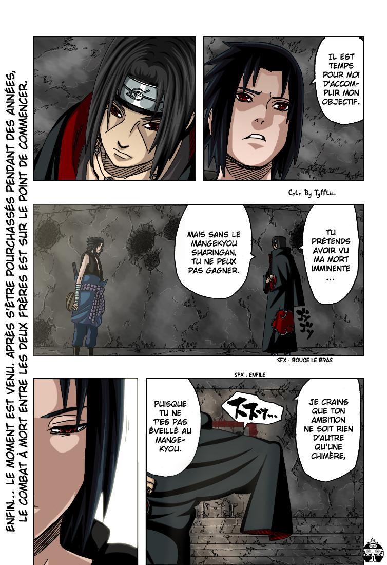 Naruto chapitre 387 colorisé - Page 1