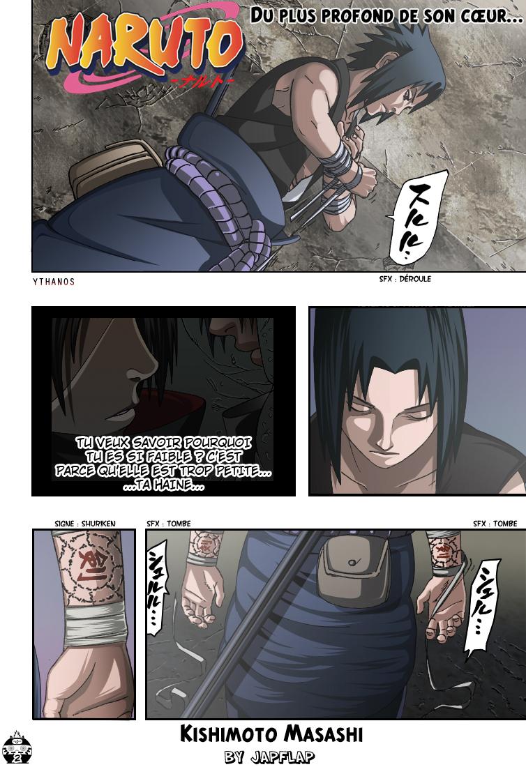 Naruto chapitre 387 colorisé - Page 2