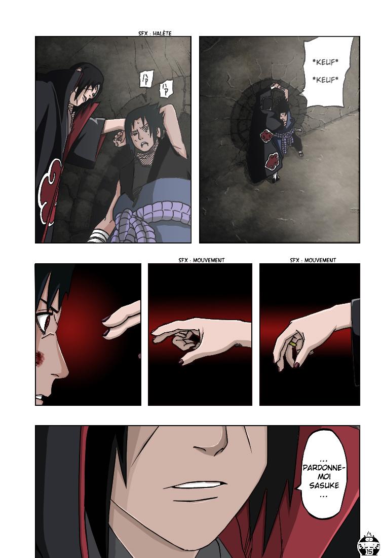 Naruto chapitre 387 colorisé - Page 14