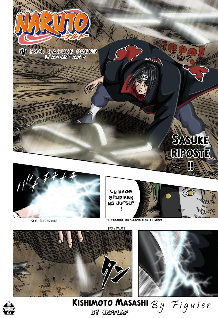 Naruto chapitre 389 colorisé - Page 4