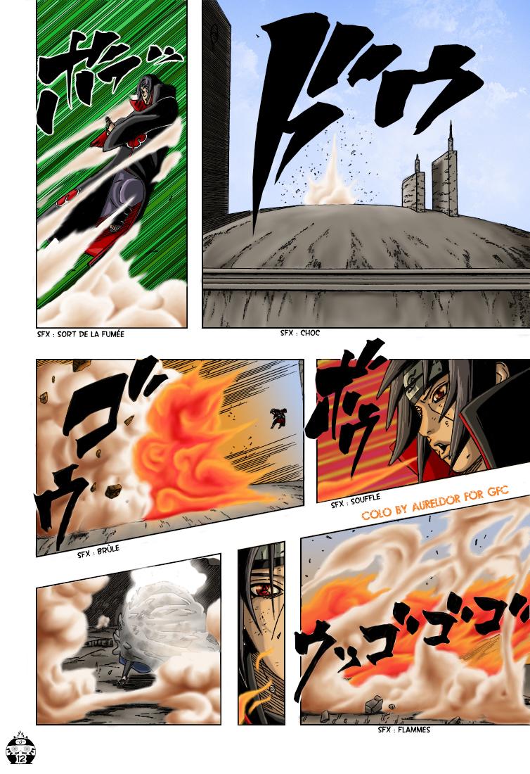 Naruto chapitre 389 colorisé - Page 12