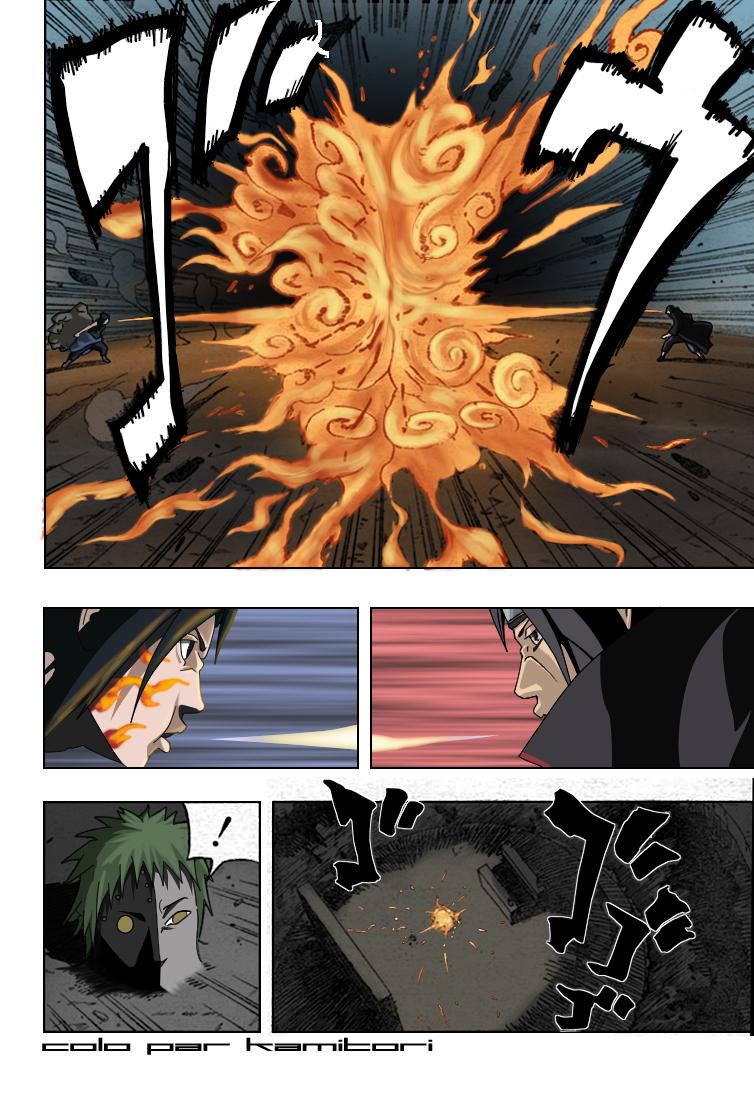 Naruto chapitre 389 colorisé - Page 14