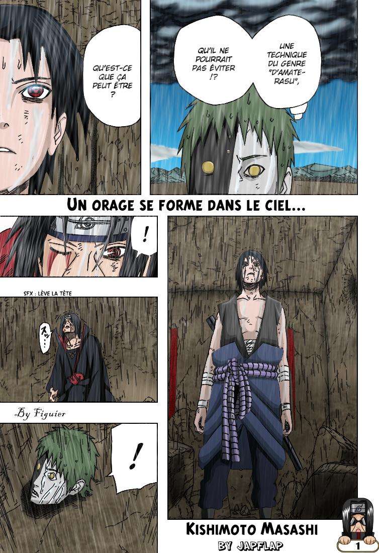 Naruto chapitre 391 colorisé - Page 1