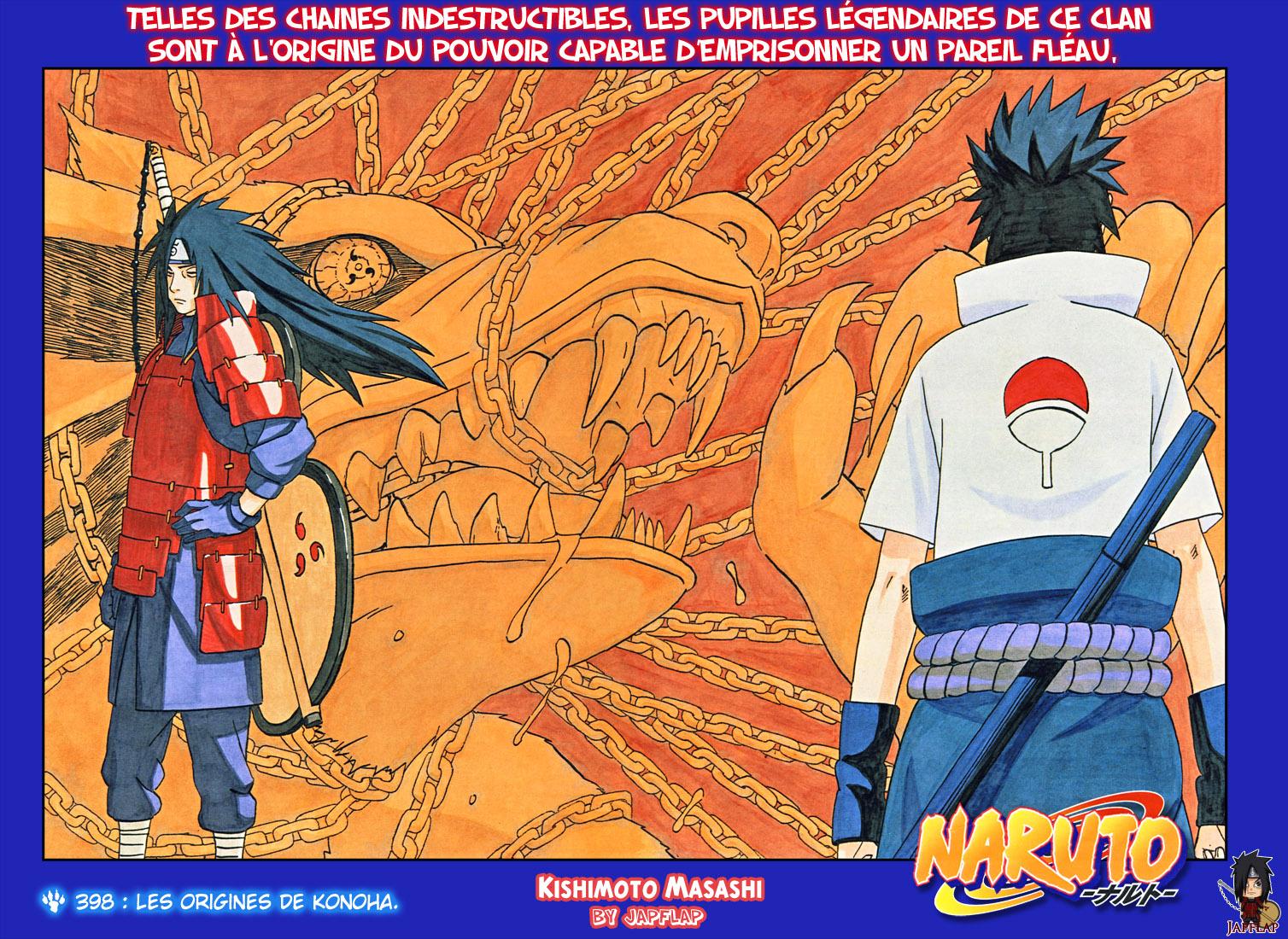 Naruto chapitre 398 colorisé - Page 1
