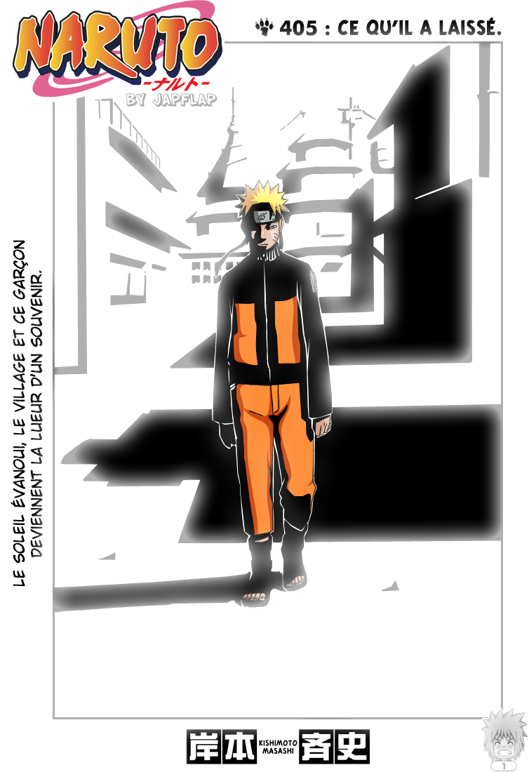 Naruto chapitre 405 colorisé - Page 1