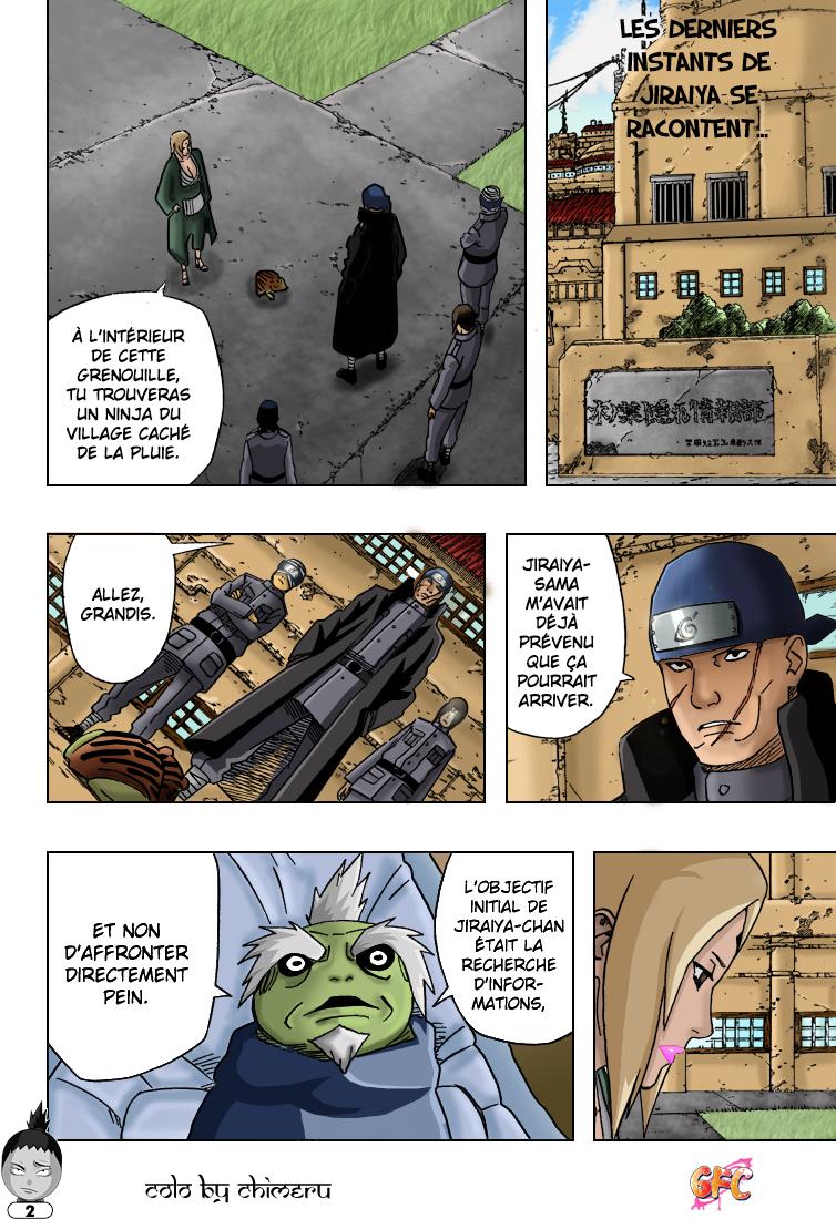 Naruto chapitre 406 colorisé - Page 2