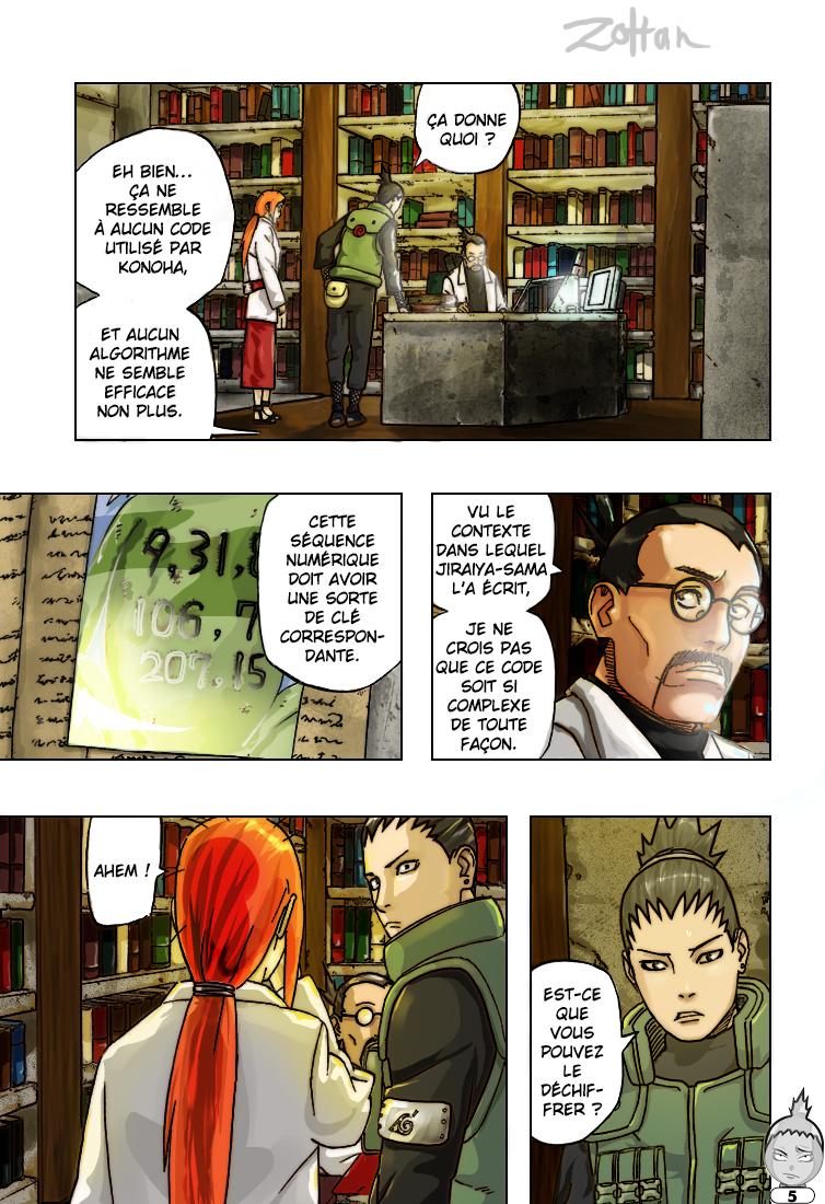 Naruto chapitre 406 colorisé - Page 5