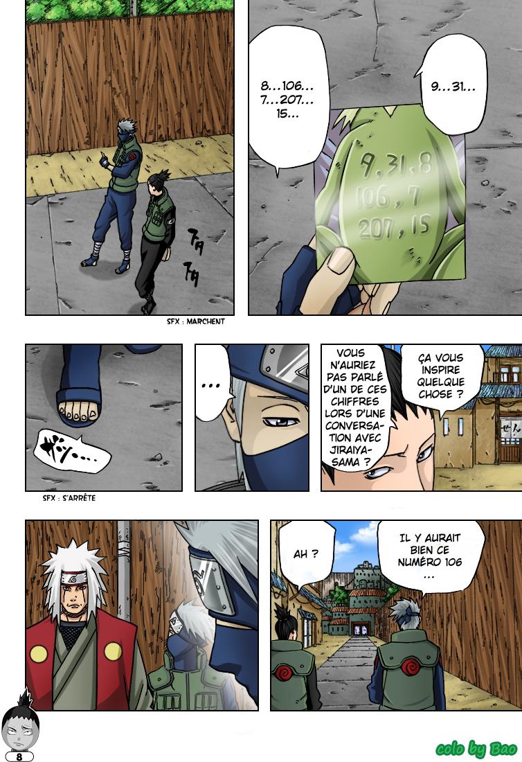 Naruto chapitre 406 colorisé - Page 8