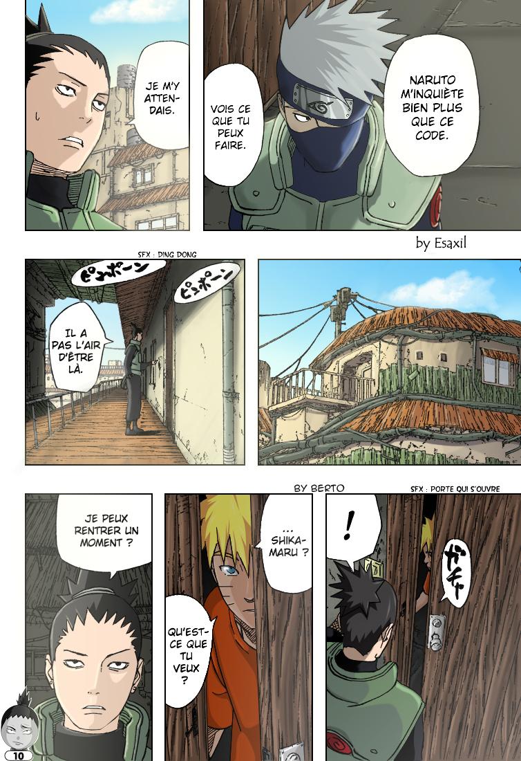 Naruto chapitre 406 colorisé - Page 10