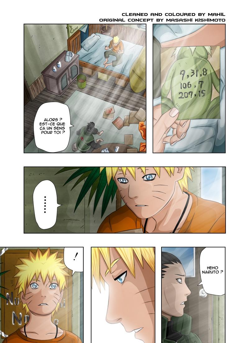 Naruto chapitre 406 colorisé - Page 11