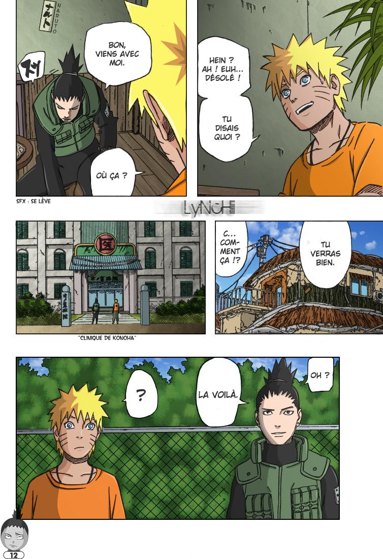 Naruto chapitre 406 colorisé - Page 12