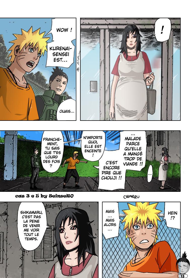 Naruto chapitre 406 colorisé - Page 13