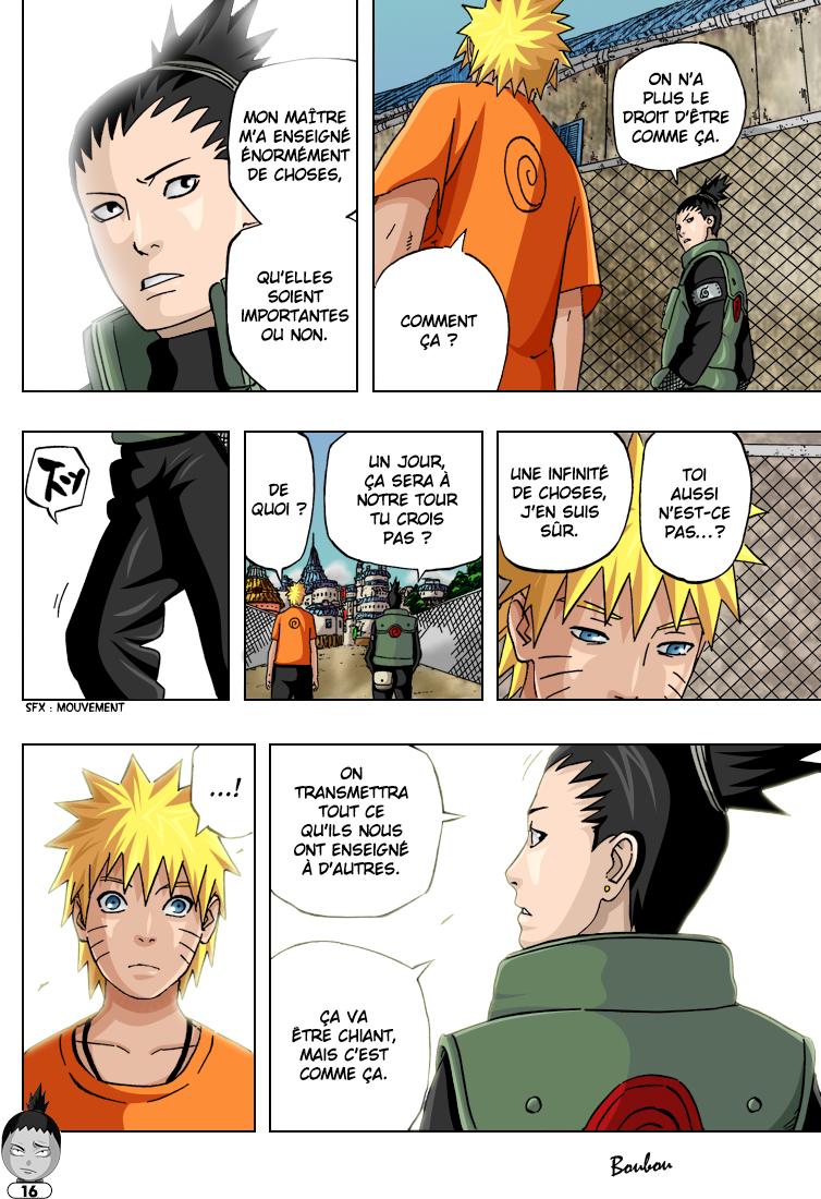 Naruto chapitre 406 colorisé - Page 16