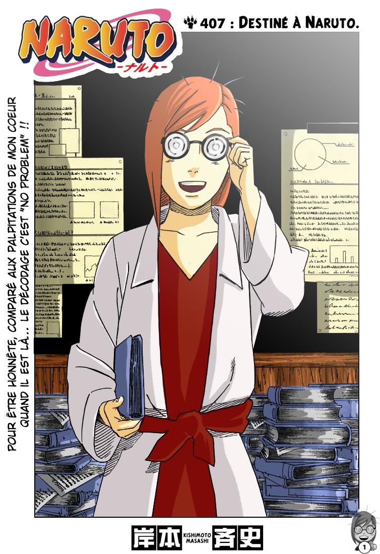 Naruto chapitre 407 colorisé - Page 1