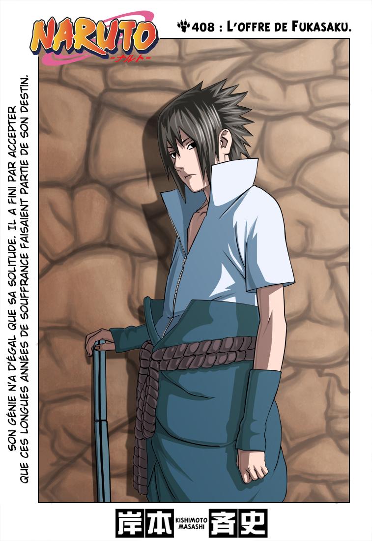 Naruto chapitre 408 colorisé - Page 1