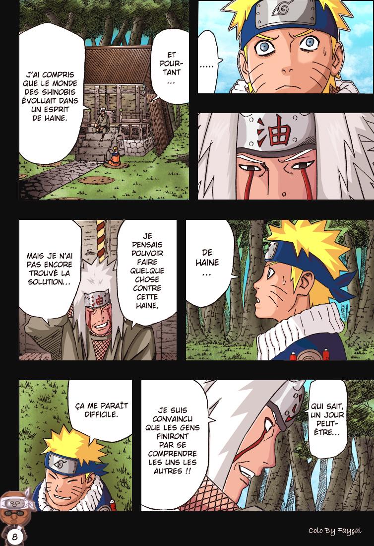 Naruto chapitre 416 colorisé - Page 8