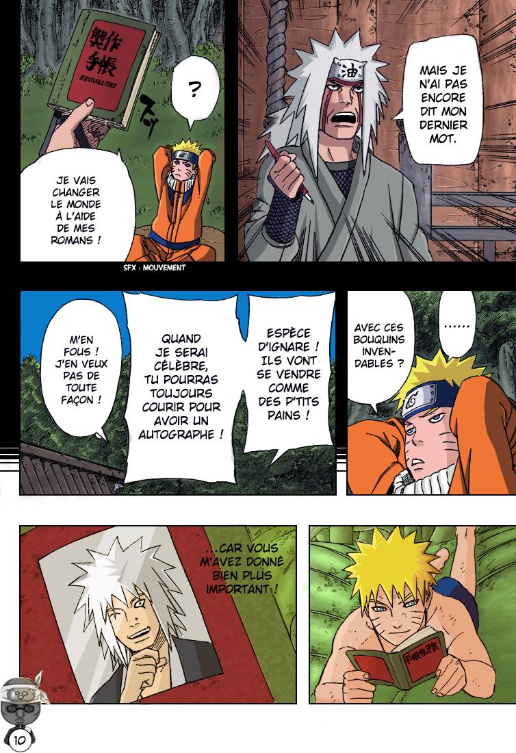 Naruto chapitre 416 colorisé - Page 10