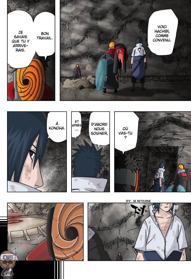 Naruto chapitre 416 colorisé - Page 12