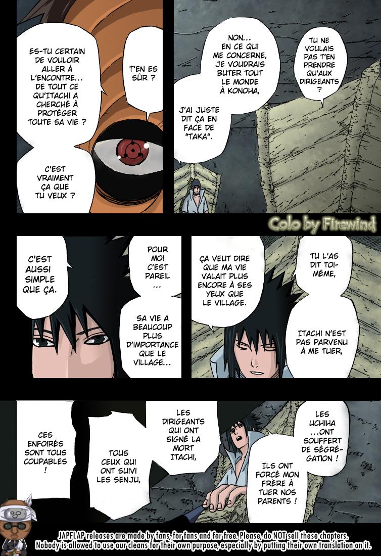 Naruto chapitre 416 colorisé - Page 14