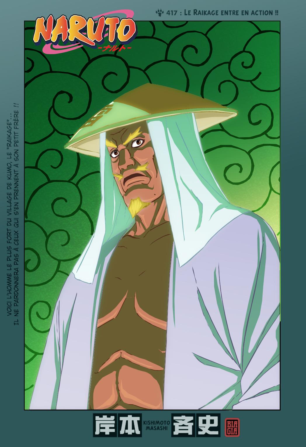 Naruto chapitre 417 colorisé - Page 1
