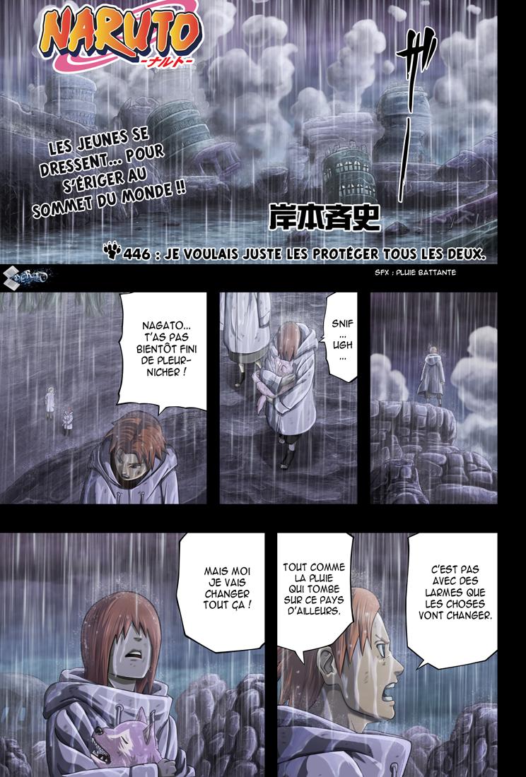 Naruto chapitre 446 colorisé - Page 1
