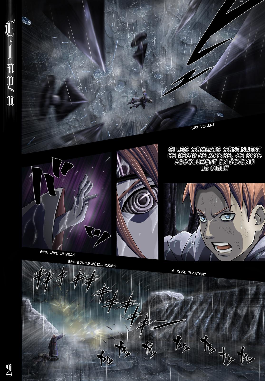 Naruto chapitre 447 colorisé - Page 2